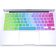 "Coosbo® Colorful Silicone Keyboard Protection Cover Skin for 11"",13"",15"",17"" Mac Macbook Air Pro Retina"