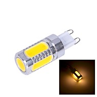 G9 7 W 3 High Power LED 450~500 LM Warm White T Corn Bulbs DC 12 V