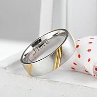 spersonalizowany prezent modna biżuteria ze stali nierdzewnej grawerowane mężczyzn szerokość pierścienia 0,6 cm