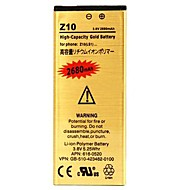 2680mAh High Capacity Replacement Rechargeable Gold Li-ion Polymer Battery for BlackBerry Z10