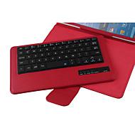 cuero de la PU caso de cuerpo completo con imán extraíble teclado Bluetooth3.0 para samsung galaxy tab pro T320 (colores surtidos)