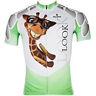 PALADIN® Cykeltrøje Herre Kort Ærme Cykel Åndbart / Hurtigtørrende / Ultraviolet Resistent Trøje / Toppe 100% PolyesterDyremønster /