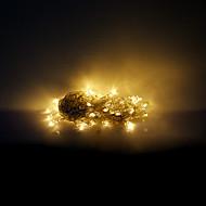 10M 100 LEDs Christmas Halloween decorative lights festive strip lights-Ordinary warm white string lights (220V)