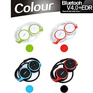 v4.0 + EDR stereo sportivo bluetooth collo-band cuffie con microfono mic per il iphone samsung altri più