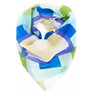 női geometria nyomtatott chiffion négyzet kendő sál