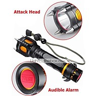 LED Flashlights Mode 1000 Lumens Adjustable Focus / Rechargeable / Impact Resistant / Nonslip grip / Strike Bezel XM-L2 T6 18650