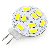 JUXIANG G4 2 W 12 SMD 5730 200 LM Warm White/Cool White A Decorative Spot Lights DC 12 V