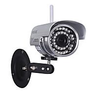 אלחוטי P2P החופשי כדור wanscam® מצלמת IP חיצוני עמיד למים (1/4 אינץ 'חיישן CMOS הצבע)