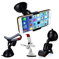 DSD® 2 Colors Universal 360 Degree Rotation Windshield Car Mount Holder for iPhone 6 and Other Phones (Assorted Color)