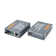 haohanxin 3100ab enda modell enda fiber fiberoptisk transceiver