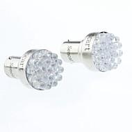 Araba Motorsiklet Beyaz 1W SMD LED 6500-7000 Yan Lambalar Fren Işığı Çift Taraflı lamba