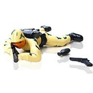 slaget brann handling soldat opptrekkbare leker (tilfeldig farge)