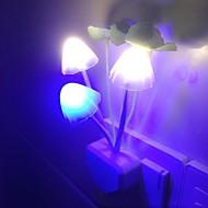 Romantic Mushroom Head Design Colorful LED Night Light(Socket)