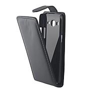 Mert Samsung Galaxy tok Flip Case Teljes védelem Case Egyszínű Műbőr Samsung Grand 2