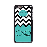 """Personalized Gift Sea Wave and Love Design Metal Case for iPhone 6 (4.7"""")"""