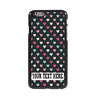 """Personalized Case Lovely Heart Design Metal Case for iPhone 6 (4.7"""")"""