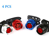 Bike Light Bike Lights / Rear Bike Light / Safety Lights Alarm Lumens Black / Blue / Red / Silver Cycling/Bike-FJQXZ