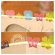 pvc dekorative klistremerker (70 stk tilfeldig farge)