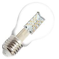 ON E26/E27 4.5 W 81 COB 400 LM Warm White A60(A19) Dimmable / Decorative Globe Bulbs AC 220-240 V