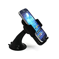 HY-SJ6681 Universal Mount Holder with 55mm to 125mm Width for Common to All Smartphones 360 Degree Rotation Phone Holder