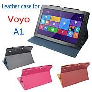 oorspronkelijke stand pu leer beschermen tablet geval voor tablet pc Voyo a1