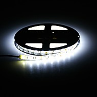 waterdichte 72W 3000LM 300-smd 5050 led warm wit / wit licht strip (5m / DC 12V)