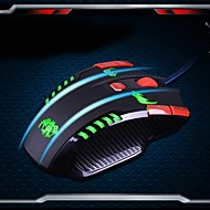 rajfoo custom mestariteos 3000dpi USB-liitäntä ja enemmän high-end ammatillinen pelihiiri painiketta dominoiva