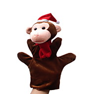 Christmas Monkey Large-sized Hand Puppets Toys