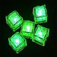 LED Light Touch Shiny Green Lce Cubes (12PCS)