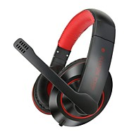 PLEXTONE® PC600 Headphone 3.5mm Over Ear Gaming for Computer/Mobile Phone/Media Player/Tablet