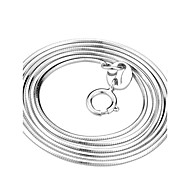 Jewelry Chain Necklaces 925 Sterling Silver Sterling Silver Women Silver Wedding Gifts