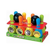 8 Pin Plastic Bowling Skittles Set Kids Children Outdoor Fun Games
