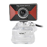 Aoni caimo 12 megapikslers webkamera med innebygd mikrofon