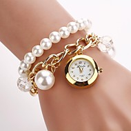 Women's Round Dial   Bracelet Crystal Quartz  Watches C&D-133
