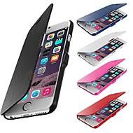 matte ontwerp magnetische gesp full body case voor de iPhone 6 (diverse kleuren)