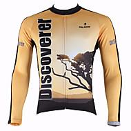 PALADIN Ciclismo Top / Maglietta Per uomo Bicicletta Traspirante / Resistente ai raggi UV / Asciugatura rapida / Tenere al caldoManiche