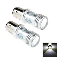 2Pcs 1157 20W 4-Cree XP-E 1800lm 6000K White Light LED for Car Headlamp / Fog Light Lamp (DC 12-24V)