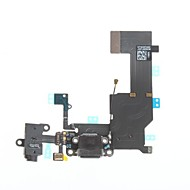 Dock Connector Charger Charging Port and Microphone Headphone Jack Flex Cable Ribbon Repair Parts for iPhone 5C