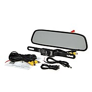 """4,3 """"TFT LCD-skærm bil bagfra backup omvendt kamera kit nattesyn"""