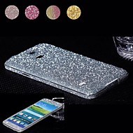 Diamond schittert poeder ontwerp full body beschermfolie voor samsung galaxy s5 i9600 (verschillende kleuren)