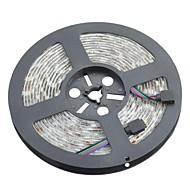 vedenpitävä 72W 300x5050 smd RGB LED koriste nauhat valot (DC 12V / 5m)