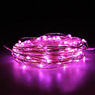 Waterproof 10W 100x0603SMD Soft Copper Lamp Pink Lights(DC 12V/1000cm)