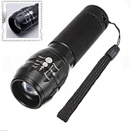 LED Flashlights / Handheld Flashlights LED 3 Mode 500 Lumens Adjustable Focus / Waterproof / Nonslip grip AAACamping/Hiking/Caving /