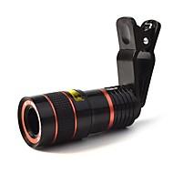 8x 18 mm Monocolo BAK4 Compatta 250m/1000m Multi-rivestimento totale Normale Nero