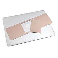 """χρυσό μέταλλο καρπό χρώμα υπόλοιπο προστατευτική μεμβράνη και μεμβράνη αφής πάνελ για 13.3 """"/15.4"""" macbook pro"""