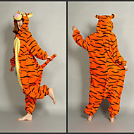Smart Tigger Polar Fleece Ενηλίκων Kigurumi Pajama
