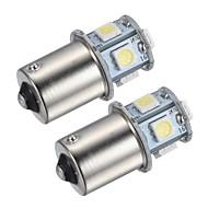 1156 Coche Blanco 1.5W SMD 5050 4000-4500Faros Antiniebla Luz Instrumental Luz de Lectura Luz Para La Placa del Coche Luz de Direccional