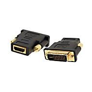 lwm® HDMI-Buchse auf d Stecker-Adapter für PC-LCD-HDTV 1080p-Video-dvi