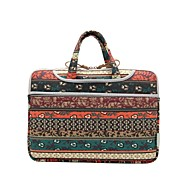 "12 ""13"" 14 ""15"" rode bohemian laptop sleeve tas waterdichte shakeproof geval voor dell thinkpad macbook"
