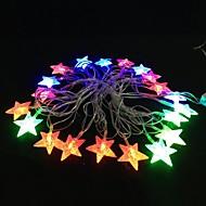 5m 4,8 W jul flash 20-LED RGB lys stribe lys lampe (EU stik, AC 110-220V)